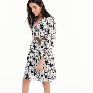 NWT J. Crew Mercantile Drapey French Floral Dress